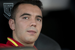 October 6, 2017 - Alicante, Spain - Iago Aspas (Celta de Vigo) during the qualifying match for the World Cup Russia 2018 between Spain and Albaniaat the Jose Rico Perez stadium in Alicante, Spain on October 6, 2017. (Credit Image: © Jose Breton/NurPhoto via ZUMA Press)