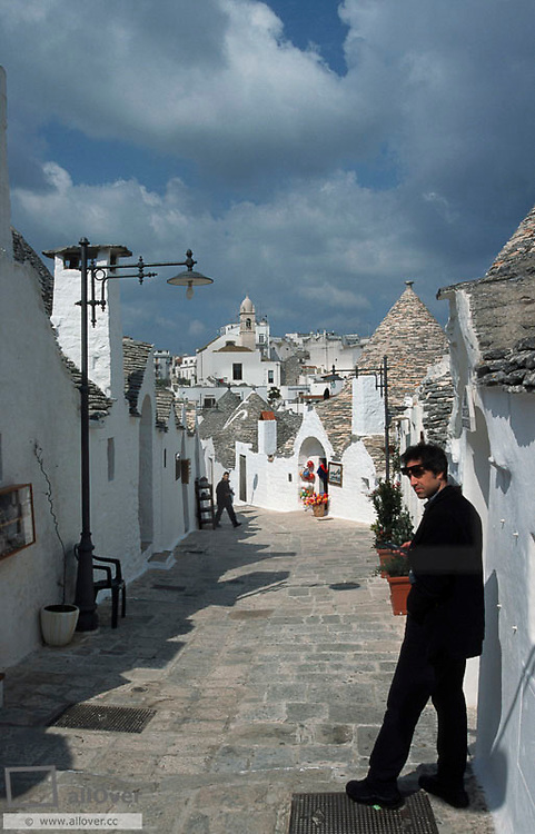 UNESCO World Heritage, Trulli of Alberobello, Italy, Aplulia, Alberobello