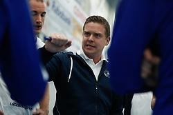 20181103 NED: Eredivisie, Sliedrecht Sport - Abiant Lycurgus: Sliedrecht<br />Arjan Taaij, headcoach of Abiant Lycurgus<br />©l2018-FotoHoogendoorn.nl / Pim Waslander