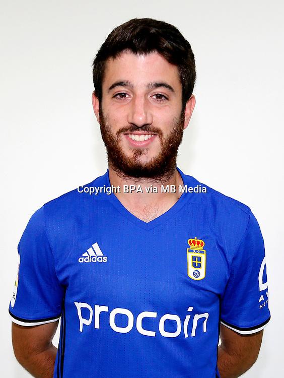 Spain - La Liga B 123 _ 2016-2017 / <br /> ( Real Oviedo ) - <br /> Fernando Garcia Puchades &quot; Nando Garcia &quot;