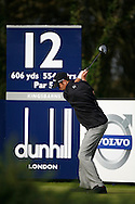 sponsors advertising <br /> at the Dunhill Links Trophy 2010<br /> Photo credit:  Mark Newcombe / www.visionsingolf.com