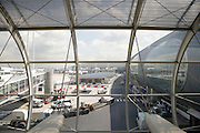 exterior view of Charles de Gaulle airport Paris