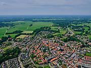 Nederland, Overijssel, Gemeente Dinkelland; 21–06-2020; Ootmarsum, toerististisch en agrarisch stadje in Twente, beschermd stadsgezicht <br /> Ootmarsum, tourist and agricultural town in Twente, protected cityscape.<br /> <br /> luchtfoto (toeslag op standaard tarieven);<br /> aerial photo (additional fee required)<br /> copyright © 2020 foto/photo Siebe Swart