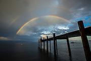 Double Rainbow<br /> West Shore, Lake Tahoe