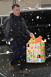 February 20, 2019 New York City<br /> <br /> Amal Clooney's gifts arrive to Meghan Markle's baby shower on February 20, 2019 in New York City.