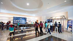 Merchandise store at the 2012 Monsoon Cup. Kuala Terengganu, Malaysia. 8 December 2012. Photo: Subzero Images/Monsoon Cup