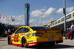 November 18, 2017 - Homestead, Florida, United States of America - November 18, 2017 - Homestead, Florida, USA: Joey Logano (22) takes to the track to practice for Ford EcoBoost 400 at Homestead-Miami Speedway in Homestead, Florida. (Credit Image: © Justin R. Noe Asp Inc/ASP via ZUMA Wire)