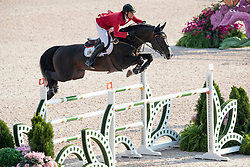 Philippaerts Nicola, BEL, Chilli Willi<br /> World Equestrian Games - Tryon 2018<br /> © Hippo Foto - Stefan Lafrentz<br /> 20/09/2018