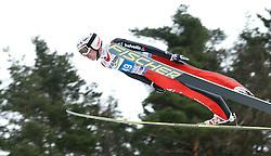 04.01.2014, Bergisel Schanze, Innsbruck, AUT, FIS Ski Sprung Weltcup, 62. Vierschanzentournee, Probesprung, im Bild Simon Ammann (SUI) // Simon Ammann of Switzerland during Trial Jump of 62nd Four Hills Tournament of FIS Ski Jumping World Cup at the Bergisel Schanze, Innsbruck, Austria on 2014/01/04. EXPA Pictures © 2014, PhotoCredit: EXPA/ Peter Rinderer