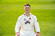 County Championship kit portrait of Adam Hose during the Somerset County Cricket Club PhotoCall 2017 at the Cooper Associates County Ground, Taunton, United Kingdom on 5 April 2017. Photo by Graham Hunt.