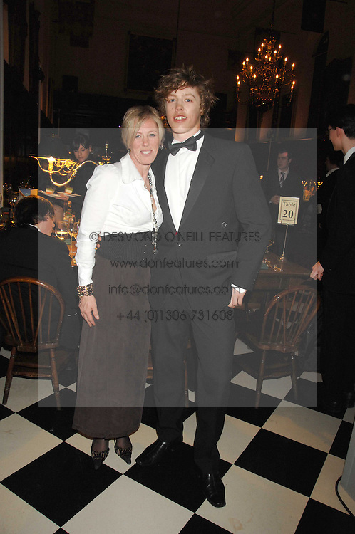 LADY CARRIE LAWSON and her son JACK LAWSON at the 2008 Berkeley Dress Show at the Royal Hospital Chelsea, London on 3rd April 2008.<br /><br />NON EXCLUSIVE - WORLD RIGHTS