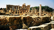 Libia, Leptis Magnia.Considerato il più bel sito romano del Mediterraneo..Libya, Leptis Magna.Considered the best Roman site in the Mediterranean