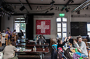 Switzerland, Zurich: the Rote Fabrik restaurant, Ziegel oh Lac