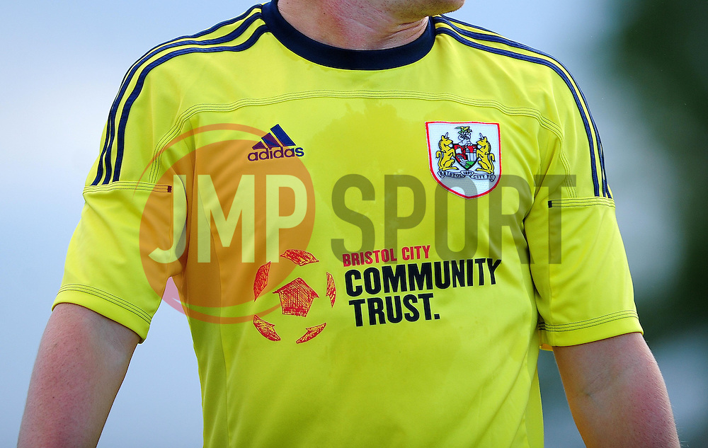 Bristol City Community Trust - Photo mandatory by-line: Dougie Allward/JMP - Tel: Mobile: 07966 386802 03/07/2013 - SPORT - FOOTBALL - Bristol -  Ashton and Backwell United V Bristol City - Pre Season Friendly