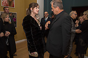 DAKOTA JOHNSON; MARIO TESTINO Vogue100 A Century of Style. Hosted by Alexandra Shulman and Leon Max. National Portrait Gallery. London. WC2. 9 February 2016.