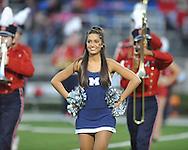 Ole Miss vs. Louisiana-Lafayette in Oxford, Miss. on Saturday, November 6, 2010. Ole Miss won 43-21.