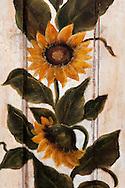 Sunflower painting for sale, Chianti Grape Harvest Festival in Impruneta, Italy