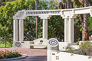 Veterans Park at Redondo Beach Overlooking the Ocean