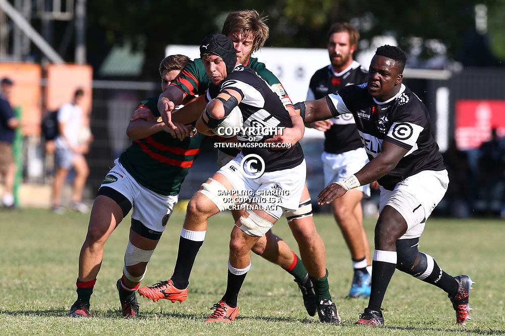 Cornelius Otto of the Cell C Sharks Under 21's during The Cell C Shark 21's and Leopards  21's Currie Cup at Growthpoint Kings Park KP2 in Durban, South Africa. 8th September  2017 (Photo by ( Steve Haag Sports)