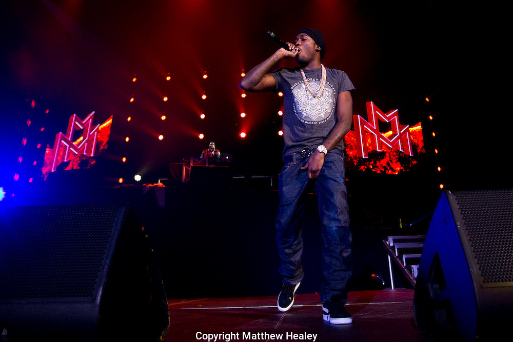 MMG Tour featuring Meek Mill, Wale, Rick Ross and Machine Gun Kelly in Providence, Rhode Island.