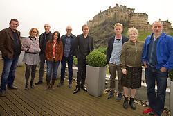 2016 Edinburgh International Film Festival, (left to right) David Sosson, Stephanie Gibson, Mark Percival (musician/writer), Emma Pollock (The Delgados) Paul Savage (The Delgados), Alex Kapranos (Franz Ferdinand), Niall McCann (writer/Director) Nicky Grogan (producer), Paul Walsh (producer), during the WORLD PREMIERE (DOCUMENTARY) LOST IN FRANCE, The Apex Hotel Grassmarket, Edinburgh16th June 2016, (c) Brian Anderson | Edinburgh Elite media<br /> <br /> Niall McCann (Director) <br /> Alex Kapranos (Musician)<br /> Emma Pollock (Musician)<br /> Paul Savage (Musician)<br /> Stewart Henderson (Musician)<br /> David Sosson (Musician)