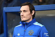 Shrewsbury Town first team coach Dean Whitehead during the EFL Sky Bet League 1 match between Oxford United and Shrewsbury Town at the Kassam Stadium, Oxford, England on 7 December 2019.