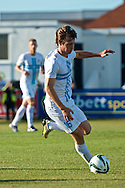 Picture by Ian Wadkins/Focus Images Ltd +44 7877 568959<br /> 25/07/2013<br /> Ivan Močinić of FC Rijeka during the second leg of the UEFA Europa League round two qualifying match at Belle Vue Stadium, Rhyl.