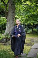 Zen monk Issho Fujita, Japan