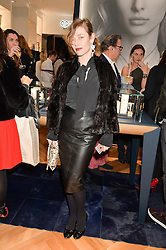 CAMILLA RUTHERFORD at a party to celebrate the launch of the APM Monaco Flagship Store at 3 South Molton Street, London on 11th February 2016