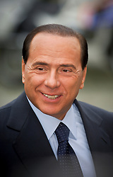 Silvio Berlusconi, Italy's prime minister, attends the European Peoples Party ( EPP ) meeting before the start of the European Summit in Brussels, on June 15, 2006. (Photo © Jock Fistick)