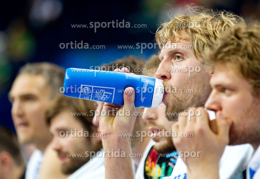 Dirk Nowitzki of Germany during basketball game between National basketball teams of Germany and Turkey at FIBA Europe Eurobasket Lithuania 2011, on September 9, 2011, in Siemens Arena,  Vilnius, Lithuania.  (Photo by Vid Ponikvar / Sportida)