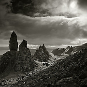The old man of Storr, Trotternish ridge, Skye