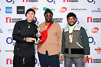 Black Eyed Peas attend O2 Silver Clef Awards 2019, Grosvenor House, London, UK, Friday 05 July 2019<br /> Photo JM Enternational