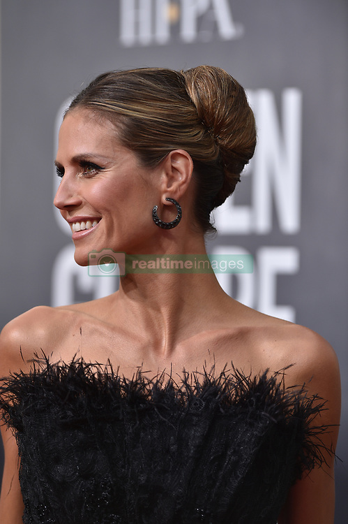 Heidi Klum attending the 75th Annual Golden Globes Awards held at the Beverly Hilton in Beverly Hills, in Los Angeles, CA, USA on January 7, 2018. Photo by Lionel Hahn/ABACAPRESS.COM  | 620796_053 Los Angeles Etats-Unis United States