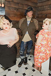 JUDY BLAME at a party to celebrate the launch of the Beth Ditto Clothing Line held at The London Edition, Berners Street, London on 18th February 2016.