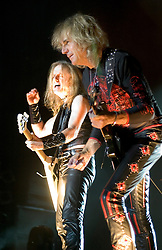 K K Downing & Glenn Tipton of Judas Priest at Priest Feast, Sheffield Arena T 13th February 2009 © Paul David Drabble