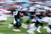 December 23, 2018. Panthers vs Falcons. Kenjon Barner, RB