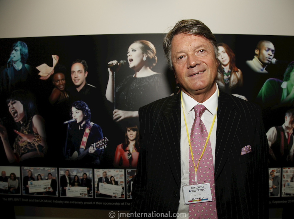 Fran Nevrkla (PPL Chairman and CEO). The BRIT School Industry Day, Croydon, London..Thursday, Sept.22, 2011 (John Marshall JME)