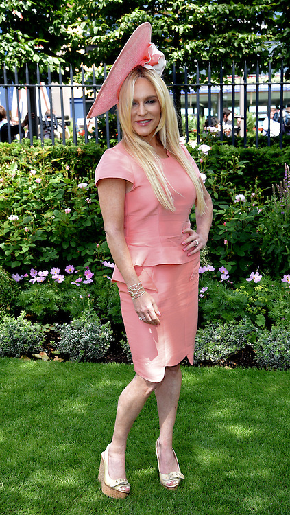 Stacey Jackson attends Royal Ascot Ladies Day at Ascot Racecourse, Ascot, Berkshire on Thursday 18 June 2015