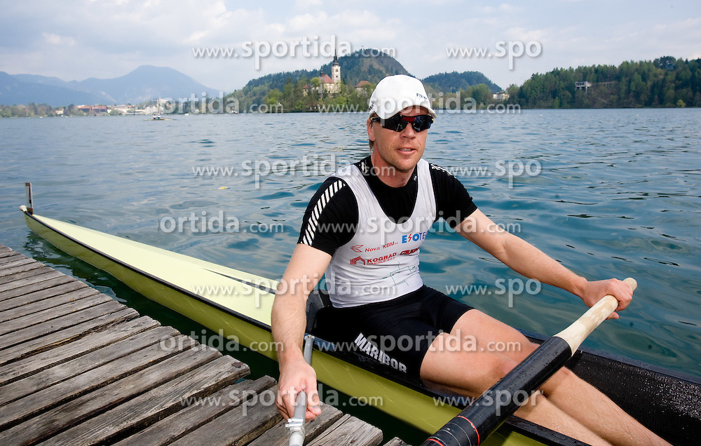 Kolander Rok  at 51st Prvomajska Regatta Bled 2010, on April 25, 2010, at Lake Bled, Bled, Slovenia. (Photo by Vid Ponikvar / Sportida)