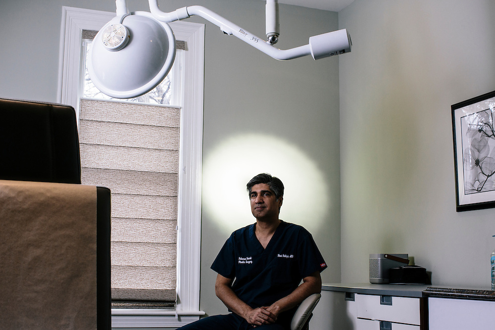 Dr. Ravi Dahiya of Potomac Facial Plastic Surgery in Rockville, Md., was one of the surgeons that worked for Lifestyle Lift, a pioneer in the mass-marketing of plastic surgery through its nationwide chain of face-lift centers, until they laid-off 400 workers because of financial trouble. Dr. Dahiya already owned his own private practice in Maryland, which he now runs full time.