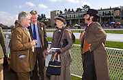Viscount Windsor,  Lady Plymouth and Lord Harlech. Ludlow Charity Race Day,  in aid of Action Medical Research. Ludlow racecourse. 24 march 2005. ONE TIME USE ONLY - DO NOT ARCHIVE  © Copyright Photograph by Dafydd Jones 66 Stockwell Park Rd. London SW9 0DA Tel 020 7733 0108 www.dafjones.com
