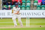 Yorkshire's Gary Ballance during the Specsavers County Champ Div 1 match between Somerset County Cricket Club and Yorkshire County Cricket Club at the County Ground, Taunton, United Kingdom on 17 May 2016. Photo by Graham Hunt.