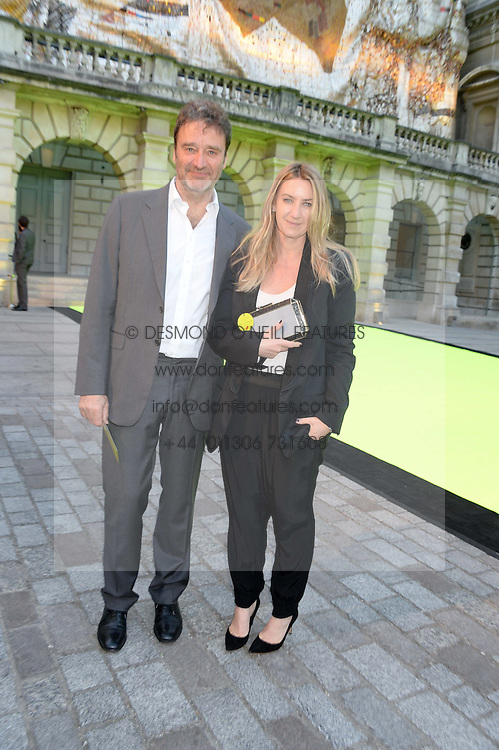 ANYA HINDMARCH and JAMES SEYMOUR at the preview party for The Royal Academy Of Arts Summer Exhibition 2013 at Royal Academy of Arts, London on 5th June 2013.