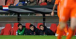 09-02-2011 VOETBAL: NEDERLAND - OOSTENRIJK: EINDHOVEN<br /> Netherlands in a friendly match with Austria won 3-1 / Ruud van Nistelrooy, Kevin Strootman and Luuk de Jong NED<br /> ©2011-WWW.FOTOHOOGENDOORN.NL