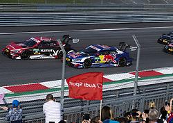 September 23, 2017 - Spielberg, Austria - Motorsports: DTM 08 Spielberg 2017,.Playboy Audi Audi RS 5 DTM #51 (Audi Sport Team Abt), Nico Müller.Red Bull Audi RS 5 DTM #5 (Audi Sport Team Abt Sportsline), Mattias Ekström  (Credit Image: © Hoch Zwei via ZUMA Wire)
