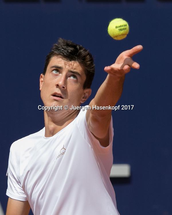 SEBASTIAN OFNER (AUT)<br /> <br /> Tennis - Generali-Kitzbuehel-Open2017 - ATP 250 -  Kitzbuehler Tennis Club - Kitzbuehel - Tirol - Oesterreich  - 2 August 2017. <br /> &copy; Juergen Hasenkopf