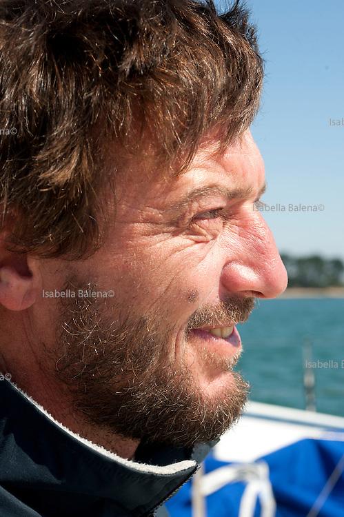 Giovanni Soldini, velista, Bretagna (France) may 2009
