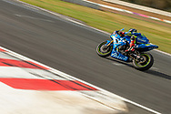 Mike Jones 46 riding for Desmosport Ducati takes pole position in Q2 during round 5 of the Australian Superbike Championship on September 7, 2019 at Winton Motor Raceway, Victoria. (Image Dave Hewison/ Speed Media)