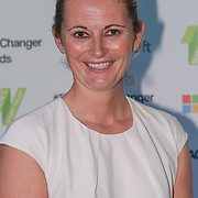 London,England,UK. 11th May 2017. Charlotte Edwards is a cricketer attends the Women's Sport Trust Awards - #BeAGameChanger at The Troxy,london, UK. by See Li
